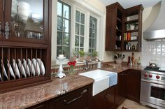 Custom Kitchen by Ronald J. Frazee Designer/Builder