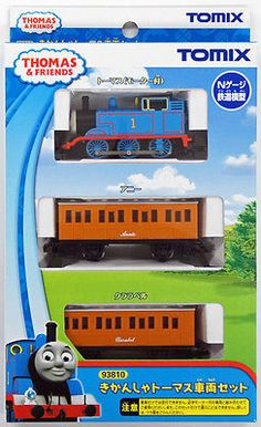Starter Sets and Packs 22547: Tomix 93810 Thomas Tank Engine And Friends Thomas 3 Cars Set (N Scale) -> BUY IT NOW ONLY: $61.9 on eBay!