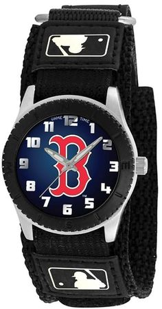 quality design 8c4bf 078fc Details about Boston Red Sox Men s Wrist Watch Game Time Logo B set of 2