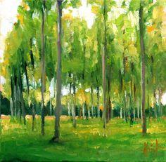 Poplars, Liza Hirst | Flickr - Photo Sharing!