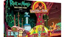 The Rick and Morty: Anatomy Park Game lets you build the world's greatest theme park inside of Ruben's organs! Obviously, it is based on the hilarious Rick And Morty Game, Rick And Morty Episodes, Rick And Morty Season, Anatomy Park, Ricky And Morty, Holiday Party Games, Tabletop Games, New Toys, Fun Games