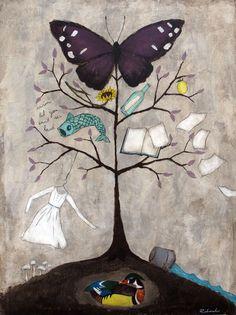 Rebecca Rebouché - Wood Duck Tree