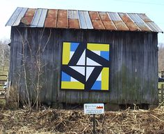 A Block quilt barn. Quilt Barn Tour. http://www.athensohio.com/whattodo/historic-sites-attractions/quilt-barn-tour#