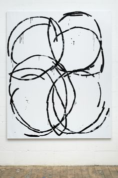 Stuart Cumberland - Nicolas Hayek, 2010 / Oil on linen / 195 x 160 cm