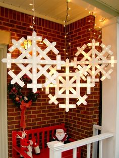 Light up your home with these snowflakes | Visit The Gift of Crafting board for your chance to win a Visa gift card