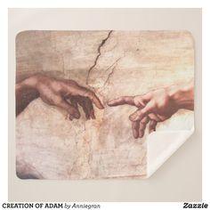 CREATION OF ADAM SHERPA BLANKET