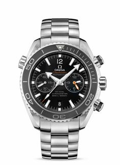 OMEGA Watches: Seamaster Planet Ocean Chrono - Steel on steel