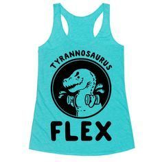 About Tyrannosaurus Flex Tank Top DAPThis tank top is Made To Order, we print one by one so we can control the quality. We use DTG Technology to print tank tops Printed Tank Tops, Printed Shirts, Bigger Arms, Tyrannosaurus, Print Tank, T Rex, Cool Shirts, Athletic Tank Tops