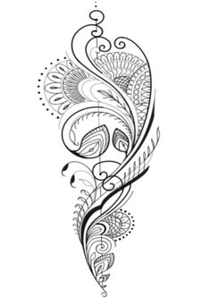Not the actual picture itself but like the style - Tattoo ornamente - Henna Tattoos, Tattoo Femeninos, Mom Tattoos, Body Art Tattoos, Small Tattoos, Sleeve Tattoos, Mandala Tattoo Design, Henna Tattoo Designs, Tattoo Avant Bras