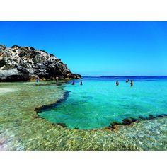 Rottnest Island, Western Australia. I dreamt that I was back in Perth. Like I said amazing beaches...