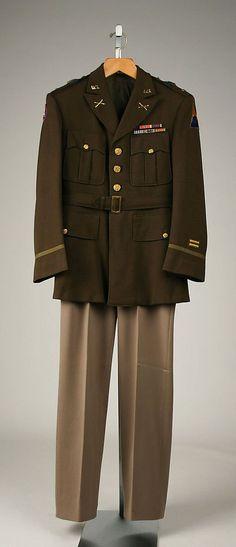 军装,约  1941年,美国: