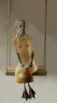 Christina Bothwell, glass artist.