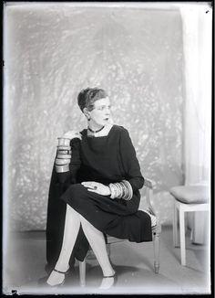 Nancy Cunard, 1925, Man Ray