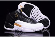 2dcd81ba289a Buy 2017 Mens Air Jordan 12 Black White Metallic Gold For Sale Lastest from  Reliable 2017 Mens Air Jordan 12 Black White Metallic Gold For Sale Lastest  ...