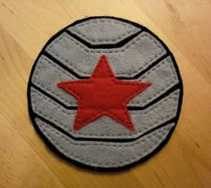 Winter Soldier Patch by ToastysStuff on Etsy, $7.00