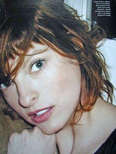Vogue Germany (2003) Linda Evangelista by Arthur Elgort
