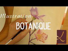 Vidéo démo : peindre une illustration botanique à la gouache par l'Atelier de Louise - l'Atelier Géant
