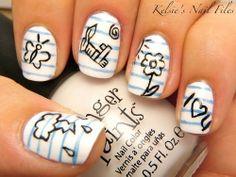 Note pad nails | Crazy Cool Nails