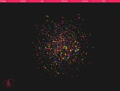 We Feel Fine is one of the most interesting visualization tools I came across. It provides visualizations on the general feelings populating the blogosphere on any given day. You can filter results based on age, location, gender, weather, and other criteria. There are six different visualizations available: Madness, Murmurs, Montage, Mobs, Metrics, and Mounds, each of which give a different portrait of the general feelings abounding on the internet.