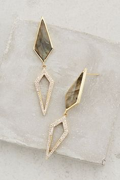 Labradorite Wilhelmina Drops - anthropologie.com