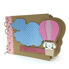 Silhouette Design Store - View Design #164728: mini album air balloon