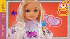 Nancy Salón de Trenzas -  Muñeca Nancy en español - Juguetes Nancy Toys ...
