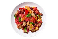 Daniel Humm's Warm Bread Salad with Tomatoes Recipe