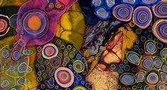 細胞や微生物のような造形。偶然性を操作したサイケデリックなアートが美しい。 | 展覧会情報・写真・デザイン|ADB