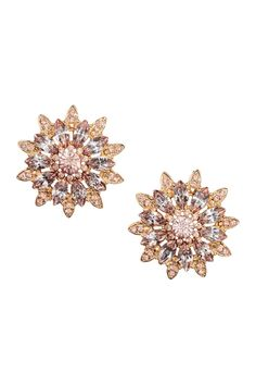 1f23adeccb06 Sparkly Earrings H M 2017 Pendientes Grandes