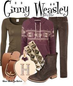 Inspired by Bonnie Wright as Ginny Weasley in the Harry Potter film franchise - Shopping info!