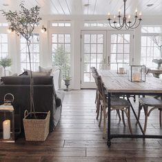 Likes, 67 Comments - Sheila Shabby, Small Dining, Home Decor Trends, Farmhouse Style, Modern Farmhouse, Farmhouse Kitchens, French Farmhouse, French Country, Dining Room