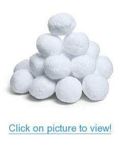Fake Snowballs for Indoor or Outdoor Play: Soft & Realistic All Weather Artificial Snowballs for Any Season - Fun for Kids & Adults - Great for a Snowball Fight, Games & Snow Decorations - 20 Pack Fake Snowballs, Indoor Snowballs, Snowball Fight Game, Winter Christmas, Christmas Crafts, Christmas Stuff, Christmas Ideas, Christmas 2019, Holiday Ideas