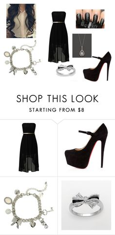 """""""The Healer ~ Chapter 1"""" by rollthediceonce ❤ liked on Polyvore featuring Christian Louboutin, Wet Seal and Bloomingdale's"""