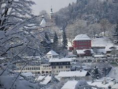 Berchtesgaden in the snow and I have been there in the snow