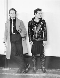 Marco Pirroni and Adam Ant - London - 1981