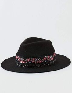 f4ecaaf0536 American Eagle Outfitters AE Wool Wide-Brim Western Hat
