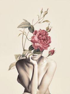 Bloom 3 detailed, premium quality, magnet mounted prints on metal designed by talented artists. Collage Nature, Collage Art, Canvas Art, Canvas Prints, Art Prints, Polychromos, 3 Arts, Arte Pop, Bedroom Art