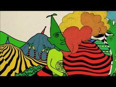 Gong - How To Stay Alive - Video Clip -  A wonderful manga animation of Daevid Allen's drawings by ace Japanese team Mood Magic, who also made System 7's Hinotori