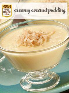 Creamy Coconut Pudding