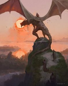 Cool pictures from Fantasy and Science Fiction that have caught my interest. Dragon Rpg, Dragon Rider, Fantasy Dragon, High Fantasy, Medieval Fantasy, Fantasy World, Fantasy Artwork, Dragon Anatomy, Dragon Artwork