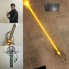 3D Printed Rapier Sword hilt v1.0 (Lightsaber/Vibrosword) Lightsaber Design, Custom Lightsaber, Lightsaber Hilt, Anime Weapons, Sci Fi Weapons, Fantasy Weapons, Star Wars Rpg, Star Wars Jedi, Star Trek