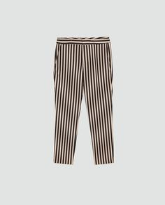 435bbe5cc521be Image 6 of STRIPED TROUSERS from Zara Out Of Style, Going Out, Striped Pants