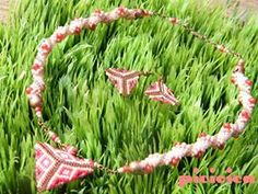 triangle jewelry set