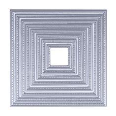 8 Sizes square Metal Die Cutting Dies Scrapbooking Embossing Dies Cut Stencils DIY Decorative Cards album Card Paper Card Maker
