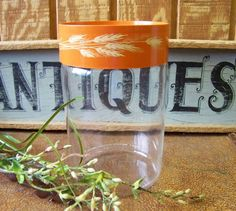 Vintage Pyrex Autumn Harvest Store N' See by tithriftstore on Etsy