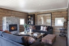 I dream of a cottage Cottage, House, Little Log Cabin, Interior, Home, Lodge, Cabin Interiors, Indoor, Winter House
