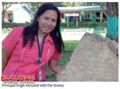 The two stones had actually been dug up by elementary students within the grounds of the Rizal Elementary School located in the municipality of Monreal on Ticao Island, Masbate more than 10 years ago (2000). During the intervening period, the stones had just been placed near the entrance of a classroom and used to wipe the mud off the slippers and shoes of the students and teachers.