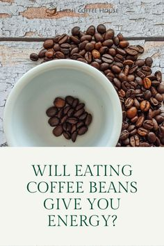 Love the smell of coffee beans? I certainly do! Do you ever pop a coffee bean in your mouth as you grind your java? I started to notice a boost from chewing coffee beans. I began to wonder if eating coffee beans can have the same effect as drinking a cup of joe. Yes, eating coffee beans does give you a boost of energy. In fact, eating coffee beans allows caffeine to enter your system faster than from a cup of coffee. #coffee Coffee Cream, Coffee Type, Black Coffee, Types Of Coffee Beans, Different Types Of Coffee, Decaf Coffee, Coffee Spoon, Green Coffee Bean Extract, Acquired Taste