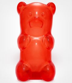 The Gummylamp looks and feels like a real Gummy Bear, only 100 times bigger and infinitely more useful. Squeeze its belly and, instead of getting your fingers sticky, a high-powered LED light switches on, illuminating the immediate space around you.