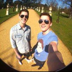 Finn and Jack Harries, the most awesome twins ever!